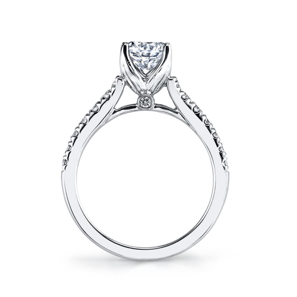 Classic designer diamond engagement ring by Parade Design.